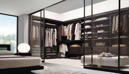 طراحی اتاق لباس و کفش