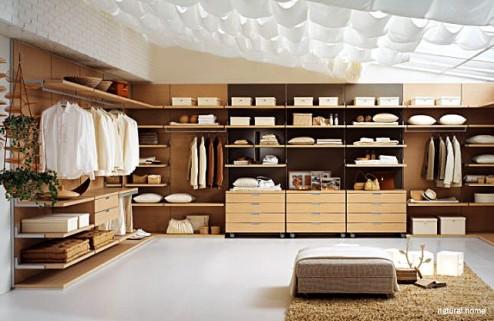 طراحی اتاق لباس یا کلوست برای خانه